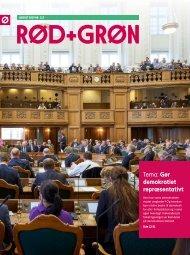 Rød+Grøn - august 2019