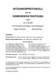 Gemeinderatssitzung vom 2007.09.27 - .PDF - Alpbach