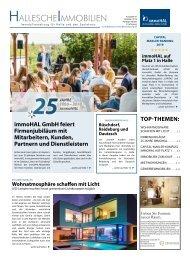 Hallesche Immobilien Zeitung Ausgabe 87 2019