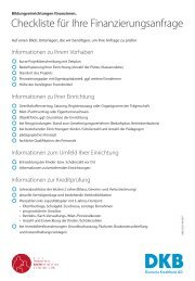 Checkliste Bildung und Forschung