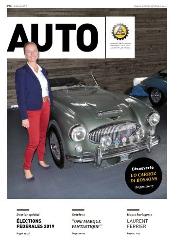 Magazine de l'Automobile Club de Suisse 05/2019