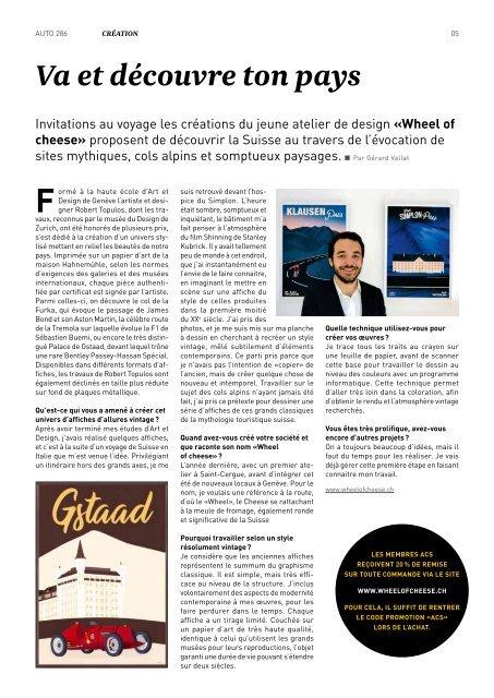 Magazine de l'Automobile Club de Suisse 05/2019
