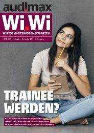 audimax Wi.Wi 9/10-2019 - Das Karrieremagazin für Wirtschaftswissenschaftler