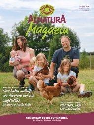 Alnatura Magazin Oktober 2019