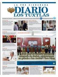 Edición de Diario Los Tuxtlas del día 02 de octubre de 2019