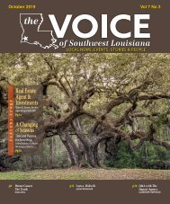 The Voice of Southwest Louisiana October 2019 Issue