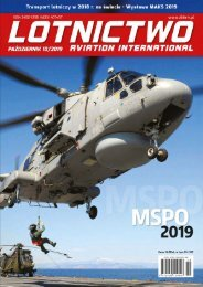 Lotnictwo Aviation International 10/2019 promo