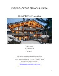 Chalet Dana - Megeve