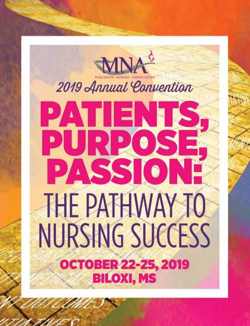 2019 Mississippi Nurses Association Annual Convention Yearbook