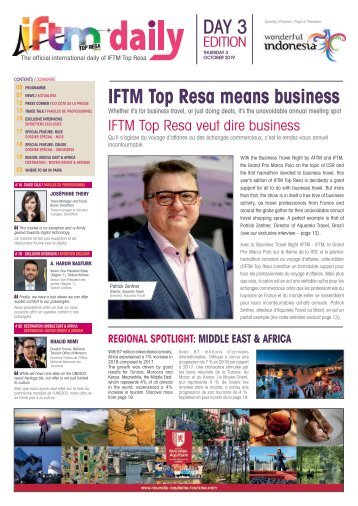 IFTM Daily 2019 Day 3 Edition