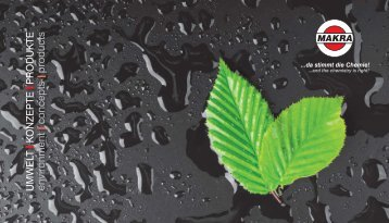 MAKRA Image-Broschüre