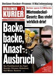 Berliner Kurier 02.10.2019