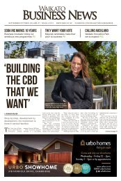 Waikato Business News September/October 2019