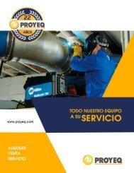 Catalogo web Proyeq 2019