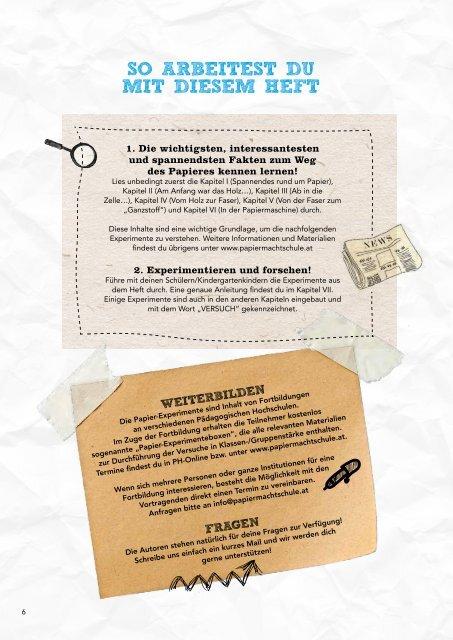 Papierforscherheft