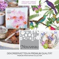 NOUVEAU paper napkins - Spring & Everyday 2020