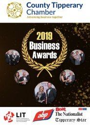 2019 Brochure Chamber Business Awards