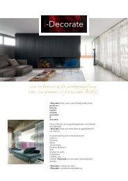 Idecorate brochure