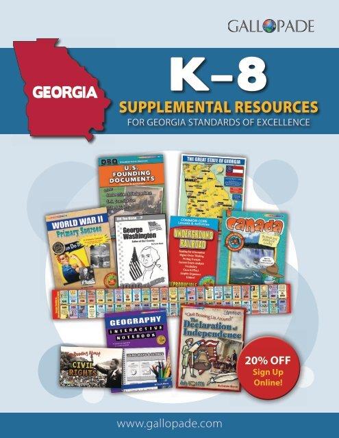 Georgia K-8 Supplemental Resources Catalog