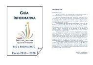 Guía Informativa Curso 19-20 Colegio Nª Sª Socorro