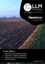 LLM Farm Vets October Newsletter 2019