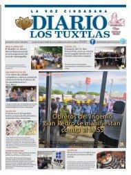 Edición de Diario Los Tuxtlas del día 03 de octubre de 2019