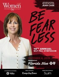 14th Annual WLP Fall Symposium Program