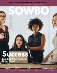 SOWBO Magazine 4th edition