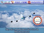 Book the Best Medical Flight in Bhubaneswar at Any-time
