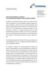 PM: Stromtankstelle Sulzbach (pdf | 0,07 MB) - Mainova AG