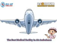 Book Now Air Ambulance with ICU Specialist at affordable Cost