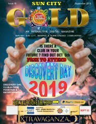 SUN CITY MAGAZINE SEPT 2019