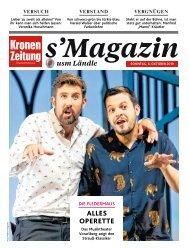 s'Magazin usm Ländle, 6. Oktober 2019