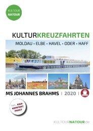 KULTURKREUZFAHRTEN 2019 I 2020 • MS JOHANNES BRAHMS