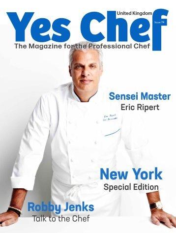 Yes Chef! Magazine (formerly Chef Magazine) October/November issue