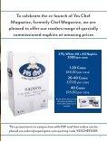 Yes Chef! Magazine (formerly Chef Magazine) October/November issue - Page 7