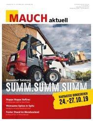 MAUCH aktuell Burgkirchen | Ausgabe Nr. 79 | Oktober 2019