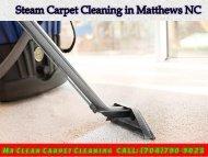 Steam Carpet Cleaning Matthews NC