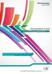 Ärztekammer für Wien Seminarprogramm - ZAM