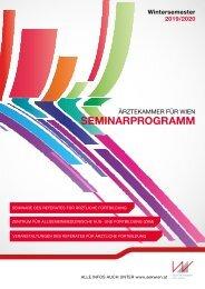 Ärztekammer für Wien Seminarprogramm