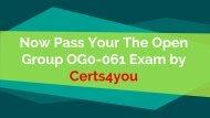 OG0-061 Cheat Sheet