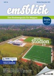 Emsblick Meppen - Heft 34 (Oktober/November 2019)