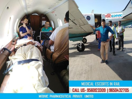 Patient Transportation Gets Easy by Medivic Air Ambulance Service in Mumbai and Delhi