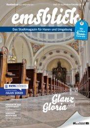 Emsblick Haren - Heft 52 (September/Oktober 2019)