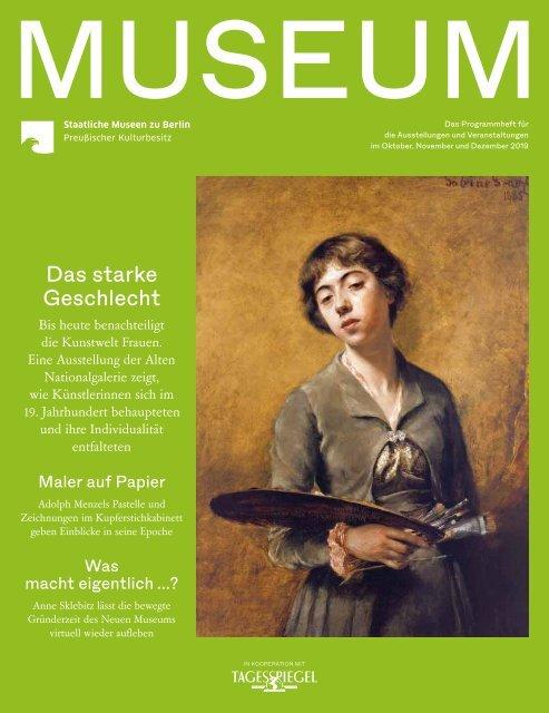 MUSEUM IV 2019 - Programmheft der Staatlichen Museen zu Berlin