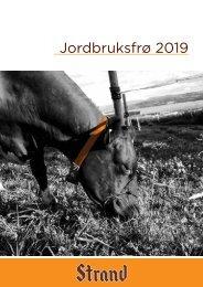 Jordbruksfrø 2019