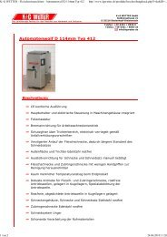 Automatenwolf D 114mm Typ 412 - Malipac Verpackungen GmbH