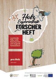 Holzforscherheft Steiermark