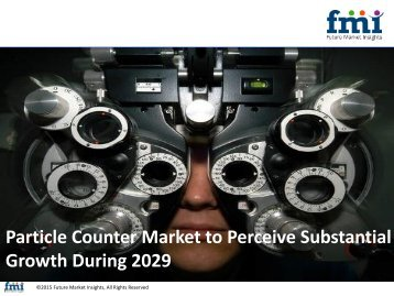 Particle Counter Market to Record an Exponential CAGR by 2029