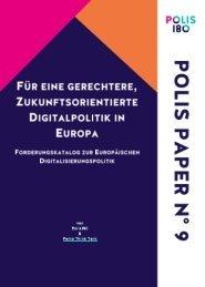 Für eine gerechtere, zukunftsorientierte Digitalpolitik in Europa